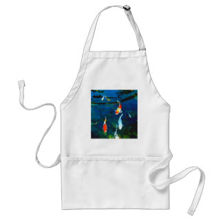 Mystic Fish Adult Apron