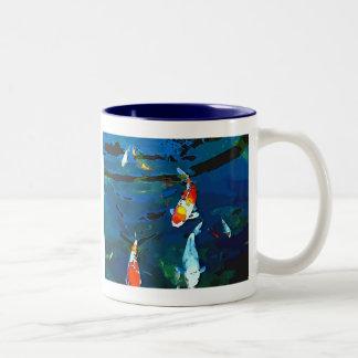 Mystic Fish Two-Tone Coffee Mug