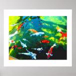 Mystic Fish Poster