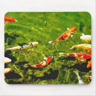 Mystic Fish/Set 2 Mouse Pad