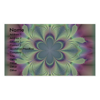 Mystic Flower Business Card