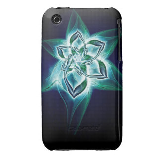 Mystic flower iPhone 3 covers
