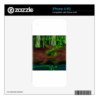 Mystic Forest Decal For The iPhone 4S