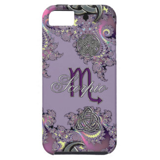 Mystic Fractal Zodiac Sign Scorpio iPhone SE/5/5s Case