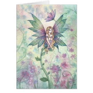 Mystic Garden Flower Fairy Card