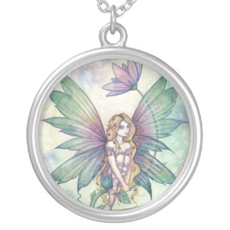 Mystic Garden Flower Fairy Necklace
