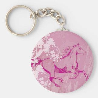 Mystic Garden Horse Keychain