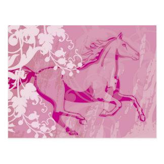Mystic Garden Horse Postcard