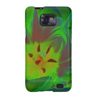 Mystic Green Tulip Samsung Galaxy S Case