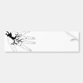 Mystic Hand Bumper Stickers