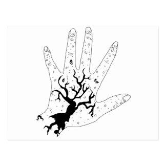 Mystic Hand Postcard