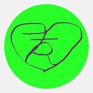 Mystic Heart Sticker