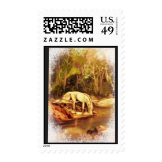 Mystic Horse Postage Stamps