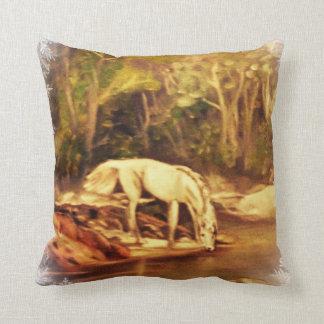 Mystic Horse Throw Pillows