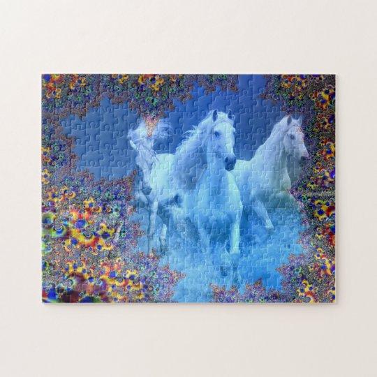 Mystic Horses Jigsaw Puzzle