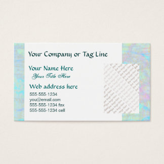 Mystic Journey business card