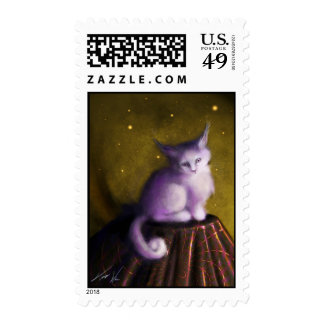 Mystic Kitten Stamp