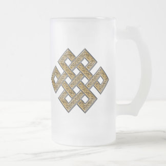 Mystic Knot - Silver & Gold 2 Coffee Mugs