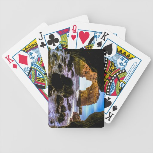 mystic Lagos Bicycle Poker Cards