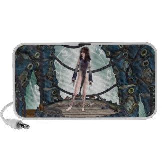Mystic Maiden Gothic Fantasy Speaker