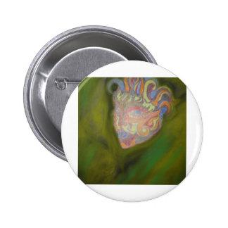 Mystic Man Pinback Button