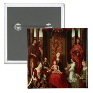 Mystic Marriage of St. Catherine and Other Saints Pins