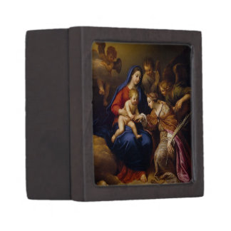 Mystic Marriage of St Catherine Gift Box
