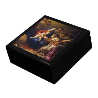 Mystic Marriage of St Catherine Keepsake Box