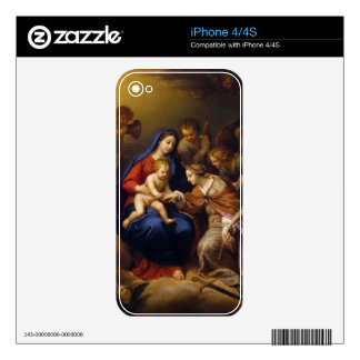 Mystic Marriage of St Catherine Decal For The iPhone 4S