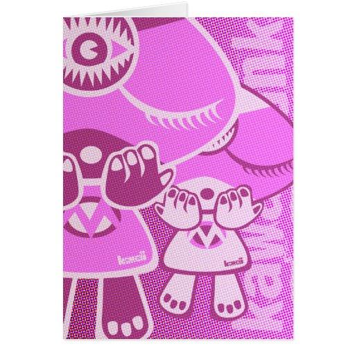 Mystic Mascot Greeting Cards