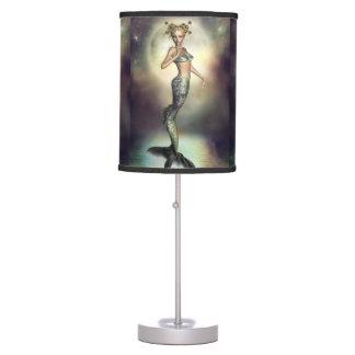 Mystic Mermaid Moon Table Lamp