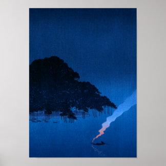 Mystic Midnight (BLUE) Poster