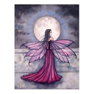 Mystic Midnight Fairy Postcard