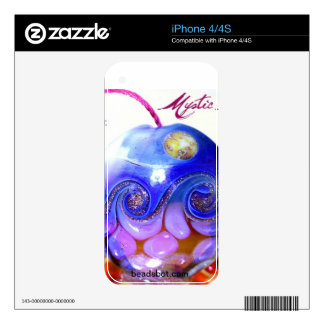 Mystic Moon bead iPhone skin Decals For iPhone 4