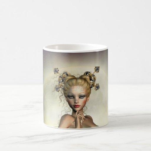 Mystic Moon Mermaid Coffee Mug