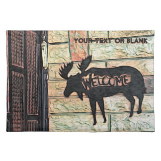 Mystic Moose Cloth Placemat