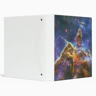 Mystic Mountain Carina Nebula HH 901 HH 902 3 Ring Binder