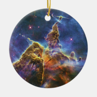 Mystic Mountain Carina Nebula HH 901 HH 902 Ceramic Ornament