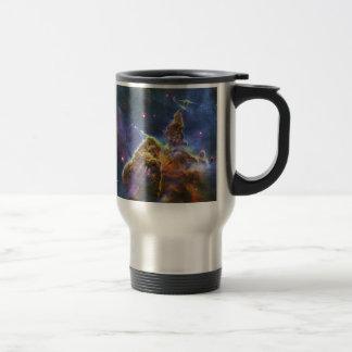 Mystic Mountain Carina Nebula HH 901 HH 902 15 Oz Stainless Steel Travel Mug