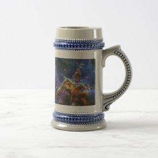 Mystic Mountain Carina Nebula HH 901 HH 902 18 Oz Beer Stein