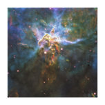 Mystic Mountain Carina Nebula HH 901 HH 902 Wide Stretched Canvas Prints