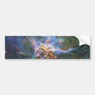 Mystic Mountain Carina Nebula HH 901 HH 902 Wide Car Bumper Sticker