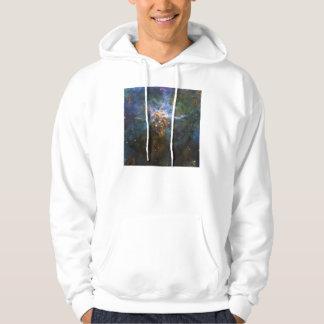 Mystic Mountain Carina Nebula HH 901 HH 902 Wide Hoodie