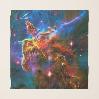 Mystic Mountain, Carina Nebula outer space picture Scarf