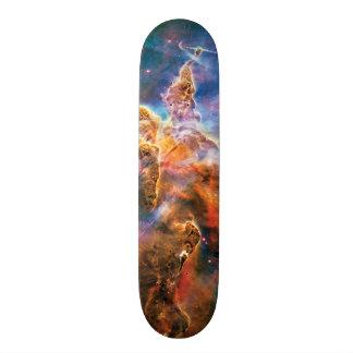 Mystic Mountain Carina Nebula Skateboard Deck