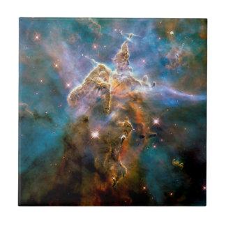 Mystic Mountain Carina Nebula Tile