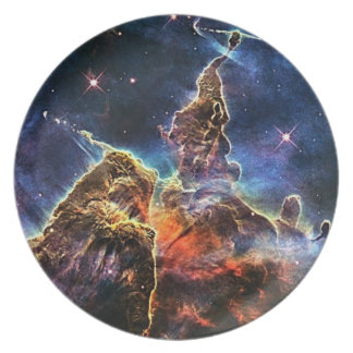Mystic mountain dinner plate
