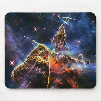 Mystic Mountain in space NASA Mouse Pad