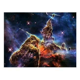 Mystic Mountain in Space NASA Postcard