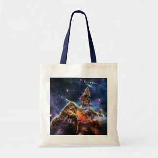 Mystic Mountain in Space NASA Tote Bag